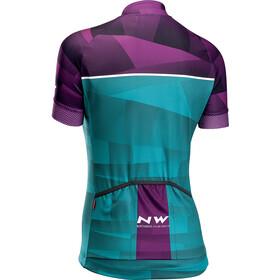 Northwave Origin Maillot Manches courtes Femme, violet/green